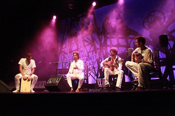 Kiki Morente y Huan Habichuela Nieto en concierto. Cuarta gala del Festival del Cante de las Minas de la Unión 2016.