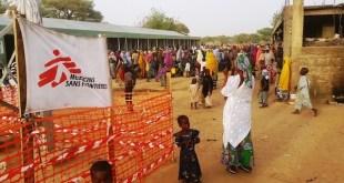 Campamento de Borno, en Nigeria. Foto: MSF