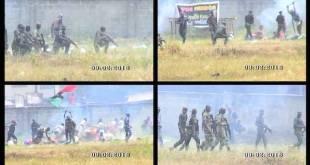 AI: Aba High school, 9 feb 2016. Carga policial contra simpatizantes pro Biafra