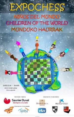 Niños del mundo, cartel de Expochess 2016