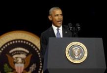 Barack Obama pronuncia en Chicago (EEUU) su último discurso como presidente de los EEUU