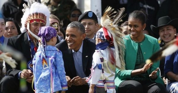 Obama en Standing Rock