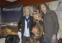 Odón Elorza en una iniciativa de apoyo al Sáhara cuando era alcalde de San Sebastián