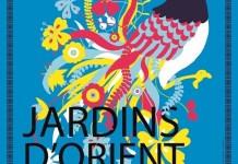 Cartel de la exposición Jardines de Oriente en París