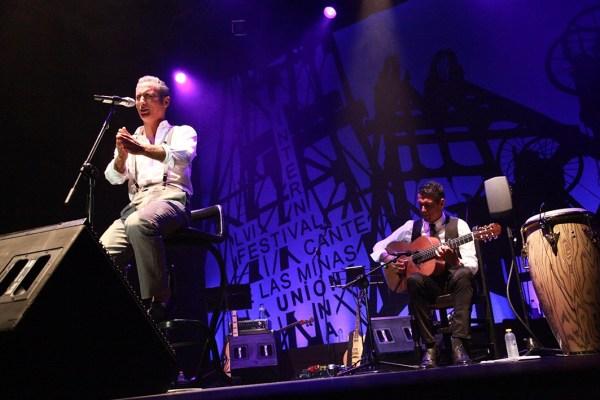 Pitingo en concierto. Cuarta gala del 56 Festival del Cante de las Minas de La Unión.