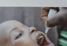 Polio: cartel de la OMS