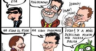 Política española, debilidades y competencia.