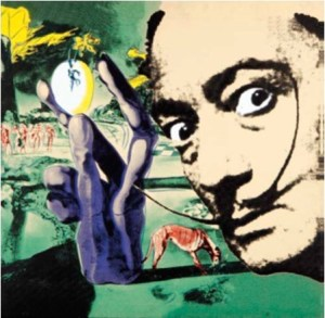 Pop-art sobre Dalí