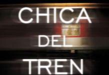 """Portada de """"La chica del tren"""""""