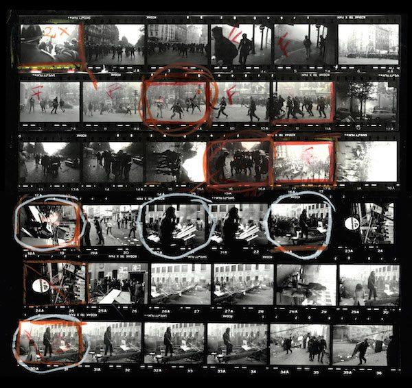 Protestas-Paris-1968-Bruno-Barbey-Magnum-contactos
