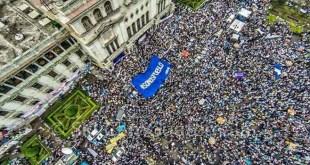 Protestas sociales en Guatemala