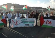 Protestas por el expolio de recursos naturales del Sahara Occidental