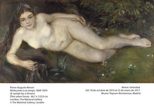 Renoir: La ninfa