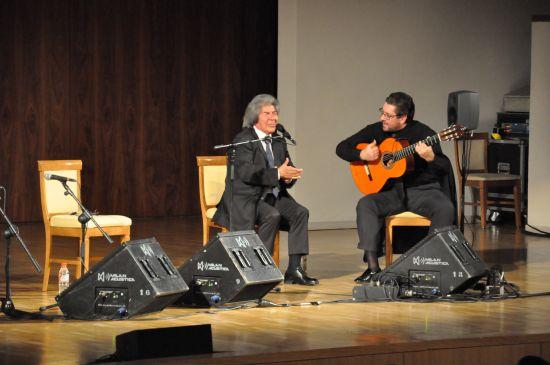 Auditorio Nacional. Rancapino padre y Antonio Higuero. Fotos CNDM