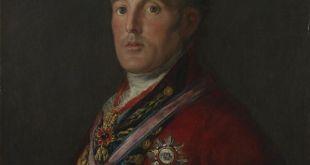 Goya. El Duque de Wellington. National Gallery. Londres