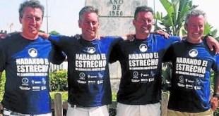 Cáncer: los hermanos Postigo y Sebastián de Érice consiguen cruzar el Estrecho