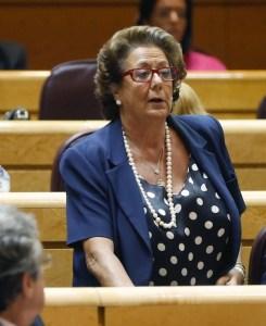 Rita Barberá en el Senado