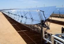 Instalaciones de energía solar en el Sahara