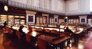Sala de consulta de la Biblioteca Nacional de España. Madrid © Ministerio de Cultura