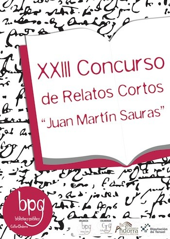"""XXIII Concurso de Relatos Cortos """"Juan Martín Sauras"""""""