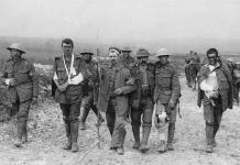 Soldados heridos en la primera guerra mundial