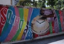 SonHoras de paz: grafitti en Shamánico
