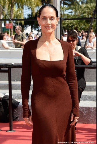 Sonia Braga en Cannes 2016