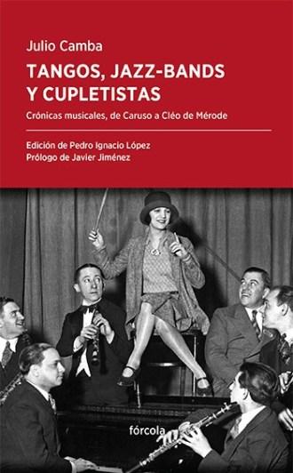 Portada de tangos jazzbands cupletistas de Julio Camba
