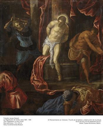Tintoretto-Cristo