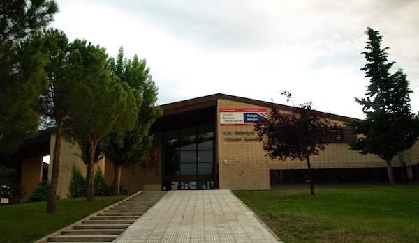 Tres Cantos: colegio público Enrique Tierno Galván