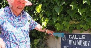 Trini Muñoz, la poetisa torresana ha muerto a los 104 años