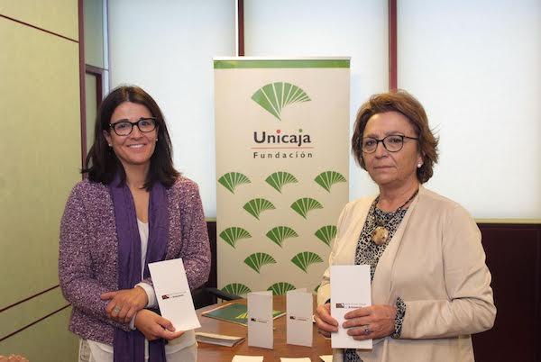 Carmen Espín y Emilia Garrido, Fundación Unicaja, Jaén.