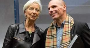 Varoufakis con Lagarde