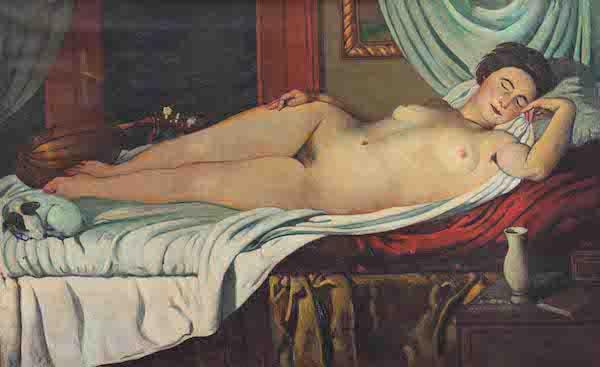 Venus dormida. Piero Marussio