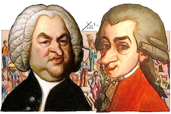 Xulio Formoso: Bach y Mozart