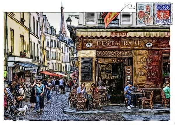 Xulio Formoso: París