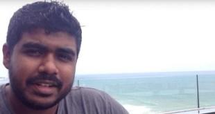 Captura de pantalla de una entrevista de YouTube Yameen Rasheed por el periodista y blogger de Nepal Ujjwal Acharya.