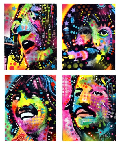 the_beatles_by_deanrussoart