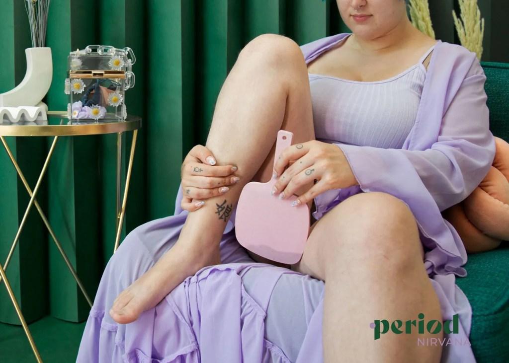 menstrual cup virgins hymen mirror