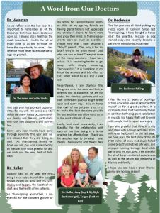 Periodontal Associates newsletters