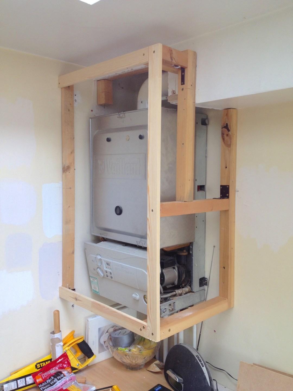 Boiler Cupboard Wooden Frame