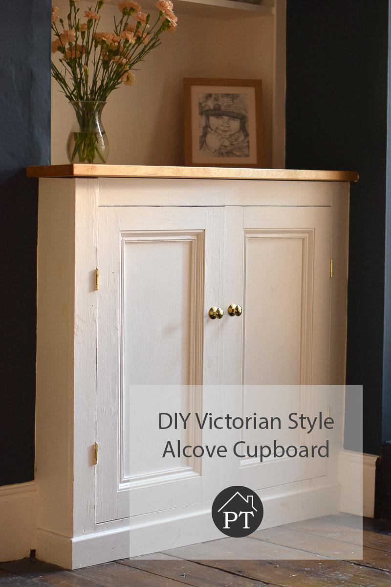 building a victorian alcove cupboard part 1 period terrace