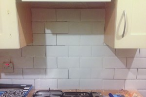 White Grout Test