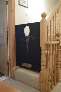 Chalk Board Baby Gate