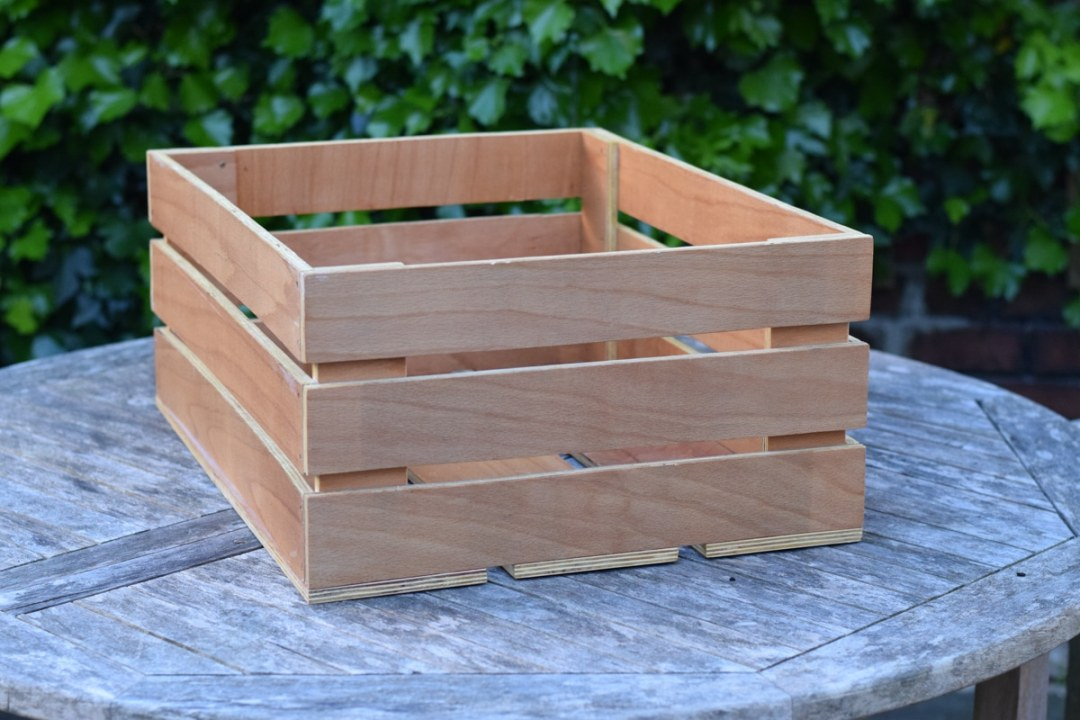 Wooden Crate Finished