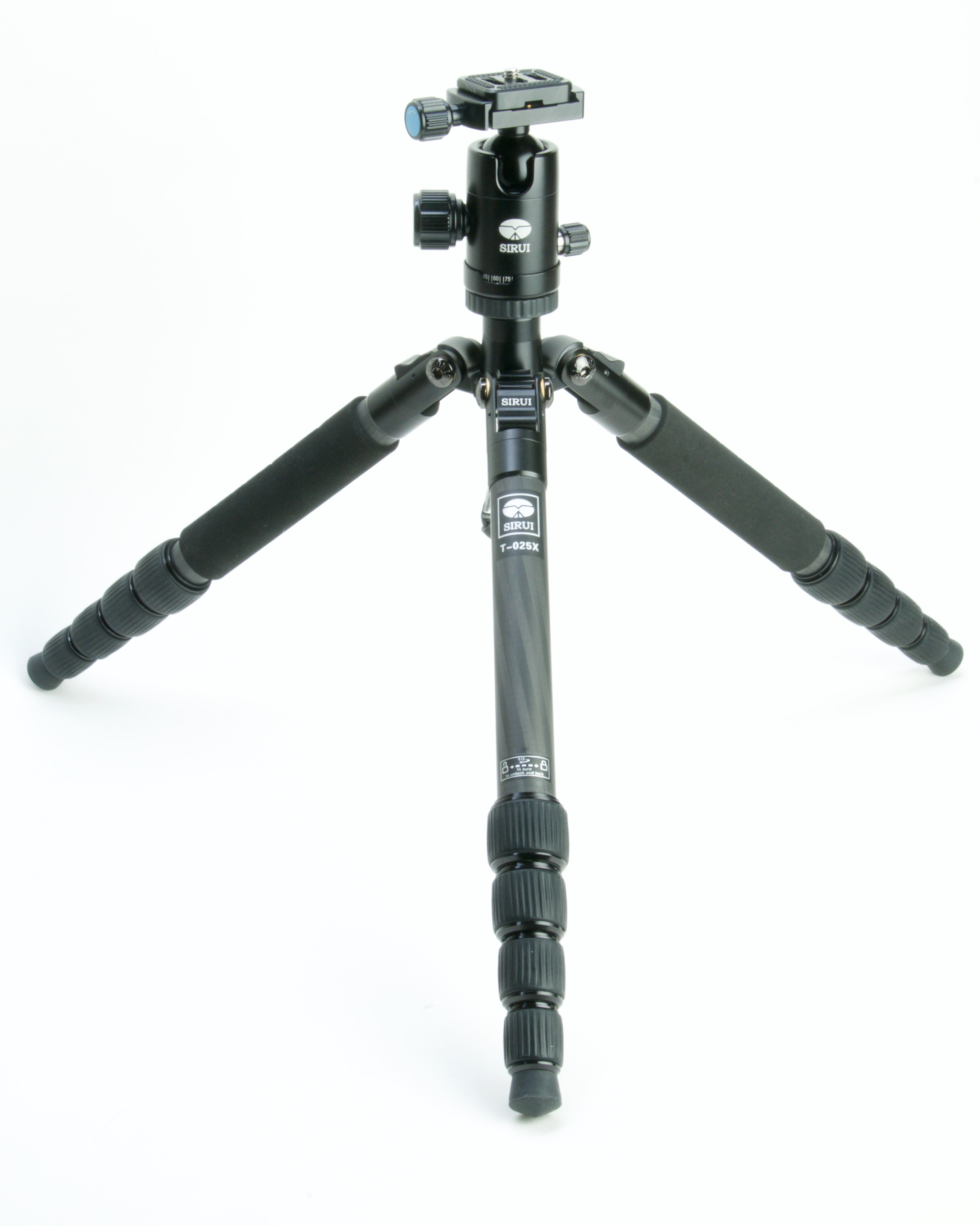 Tripod at second leg angle