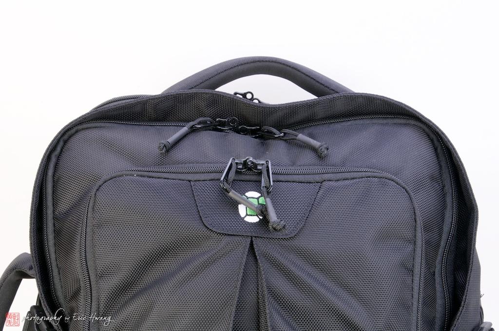 Zipper cover detail