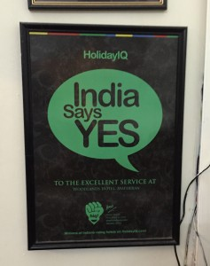 India says YES because they don't understand the question.