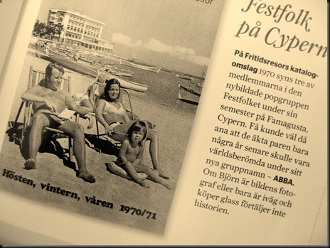 Festfolk Abba på Cypern 1970[6]