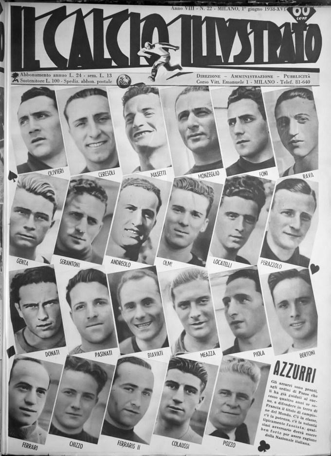 Calcio Illustrato, issue 22, June 1, 1938 (1)
